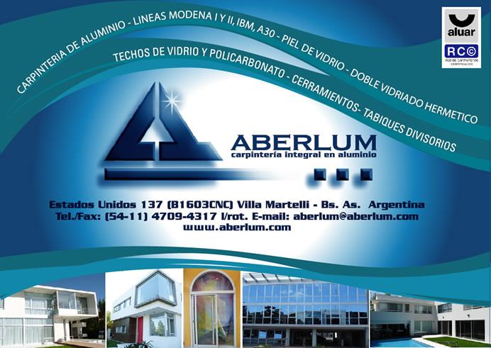 Aberlum Carpinteria Integral De Aluminio Lineas Modena
